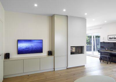 Wohnzimmer - Privathaus Umbau Bonn